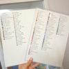 手作り!スワロフスキーのカラーチャートができました!✨
