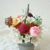 開店祝い✨樹脂粘土のアイスとお花のブーケ🌼🍨